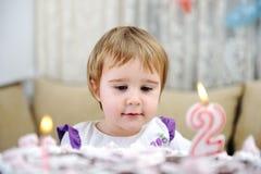Lycklig födelsedag till dig! Fotografering för Bildbyråer
