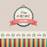 Lycklig födelsedag till dig Royaltyfria Bilder