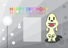 Lycklig födelsedag, vektorillustratör Arkivbild