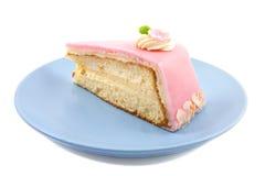 lycklig födelsedagcake Arkivfoto