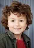 lycklig förtjusande pojke Royaltyfria Bilder