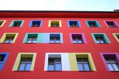 lycklig facade Royaltyfri Foto