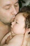 lycklig fader Royaltyfri Fotografi