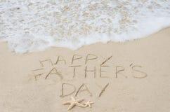 Lycklig faders bakgrund för dag Royaltyfria Bilder