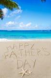 Lycklig faders bakgrund för dag Arkivfoto