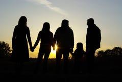 lycklig familj royaltyfria bilder