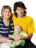 lycklig familj Royaltyfri Fotografi