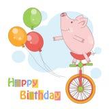 Lycklig födelsedag! Arkivfoton