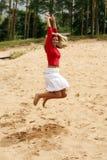 lycklig feriesommar royaltyfria foton