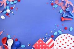 Lycklig fjärdedel av Juli partibakgrund Royaltyfri Foto