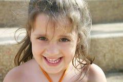 Lycklig flicka Arkivbild