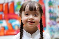 Lycklig flicka Arkivfoto