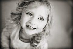 lycklig flicka Royaltyfria Foton