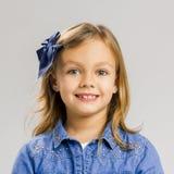 lycklig flicka Royaltyfri Foto