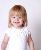 lycklig flicka little Arkivfoton