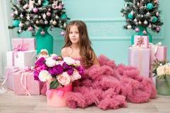 lycklig flicka little Royaltyfri Bild