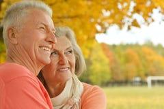 lycklig gamla människor Royaltyfria Bilder