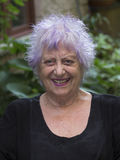 lycklig gammal kvinna Arkivbilder