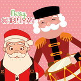 Lycklig glad jul Fotografering för Bildbyråer