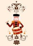 Lycklig glad jul Royaltyfri Bild