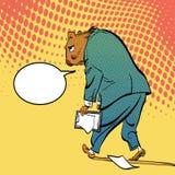 Lycklig Groundhog dag Bokstäverhälsning Ledsna Groundhog Royaltyfri Fotografi