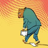 Lycklig Groundhog dag Bokstäverhälsning Ledsna Groundhog Arkivbilder