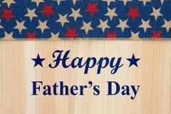 Lycklig hälsning för dag för fader` s Royaltyfria Bilder