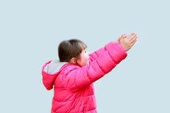 lycklig härlig flicka Royaltyfria Foton