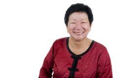 lycklig hög kvinna Royaltyfria Bilder