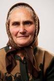 lycklig hög kvinna Royaltyfri Fotografi