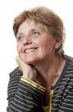 Lycklig hög lady Fotografering för Bildbyråer