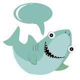 Lycklig haj Royaltyfri Bild