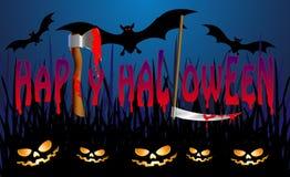 Lycklig halloween3 Arkivfoton