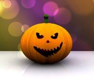 Lycklig halloween bakgrund - 3d Royaltyfria Foton