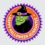 Lycklig Halloween skyddsremsa Royaltyfri Bild