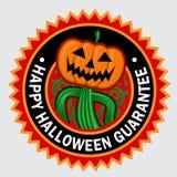 Lycklig Halloween skyddsremsa Arkivfoton