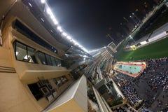 lycklig Hong Kong racecoursedal Royaltyfri Foto