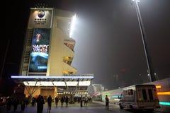 lycklig Hong Kong racecoursedal Royaltyfria Foton