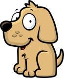 lycklig hund vektor illustrationer