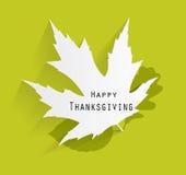 Lycklig illustration för tacksägelsedagvektor Royaltyfri Foto