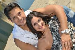 lycklig indier för par Royaltyfri Foto