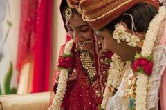 lycklig indier för par arkivfoto