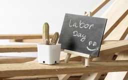 Lycklig internationell arbetar`-dag och lyckligt begrepp för arbets- dag Sm Royaltyfri Fotografi