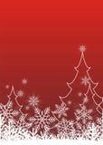 lycklig jul 1 royaltyfri illustrationer