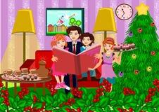 lycklig jul Arkivfoto