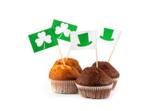 Lycklig kaka för dag för St Patrick ` s Royaltyfri Foto