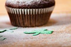 Lycklig kaka för dag för St Patrick ` s Fotografering för Bildbyråer