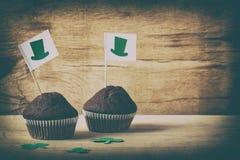Lycklig kaka för dag för St Patrick ` s Royaltyfri Fotografi