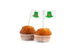 Lycklig kaka för dag för St Patrick ` s Arkivfoton