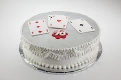 Lycklig kaka för födelsedag 70 Arkivfoton
